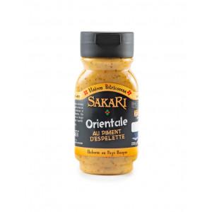 Sauce sakari orientale piment espelette 225 g