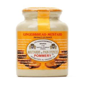 Moutarde de Meaux Pommery au pain d'épices 250 g