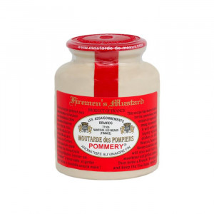 Moutarde de Meaux Pommery pompiers 250G