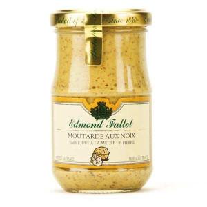 Moutarde Edmond Fallot aux noix 210 g