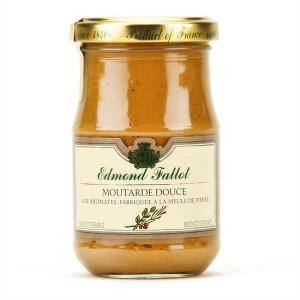 Moutarde douce aux aromates Edmond Fallot 210 g