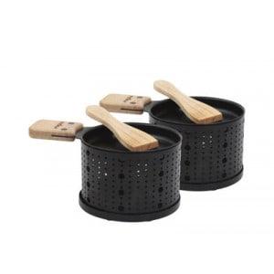 Appareil à raclette à la bougie cookut lumi pour 2 personnes