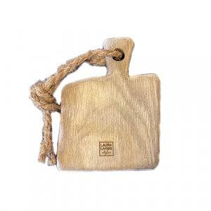 Planche à découper Laura Living Design Mixte en chêne 12x15cm