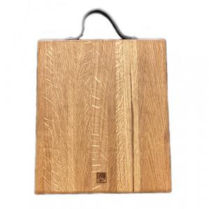 Planche à découper Laura Living Design en chêne Billot 35 x 30cm