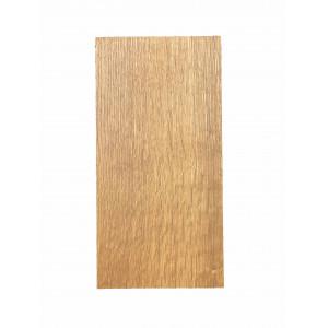 Planche plateau Raumgestalt en chêne Bois foncé 14 x 28cm