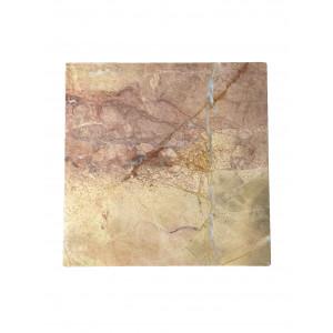 Planche de présentation Stoned  en marbre rose 40x40cm