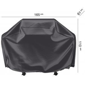Housse barbecue gaz 165 x 61 H 110 cm