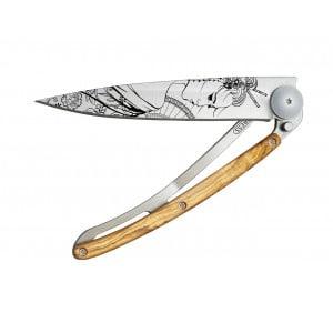 Couteau Deejo tatoo Geisha 37g