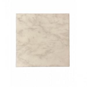 Planche de présentation Stoned en marbre blanc 40X40cm