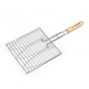 Grille pour 3 poisson 28 x 28 Barbecook