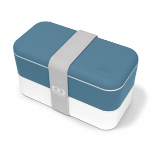 Box MB original bleu denim Bento