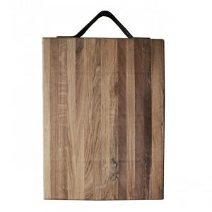 Planche à découper Laura Living Design en chêne Billot 50 x 35cm