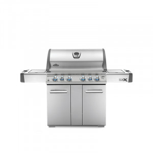 Barbecue gaz Napoleon LEX 605 infrarouge inox