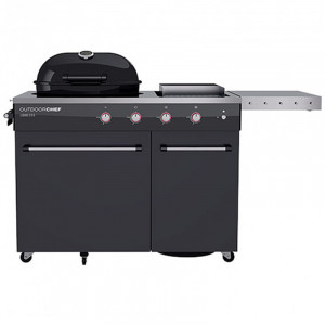 Barbecue Gaz Outdoorchef Lugano 570g Evo noir