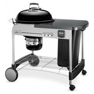 Barbecue kettle charbon 57 Weber Performer Premium GBS 57 cm noir sur chariot