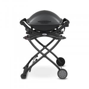 Barbecue électrique Weber Q 2400 gris anthracite avec chariot