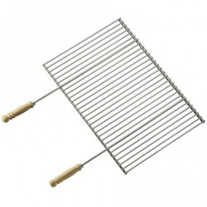 Grille professionnelle Barbecook 90 x 40 recoupable