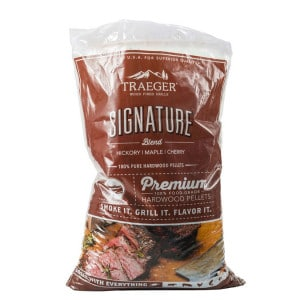 Sac de pellets fumage Traeger Signature Blend 9kg