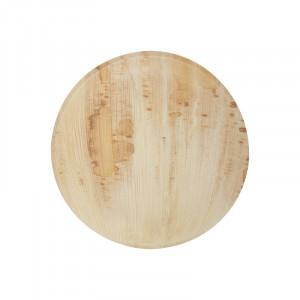 Assiette en palmier jetable L x8
