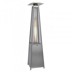 Parasol chauffant gaz Fargau Sun Flame Pyramide Aluminium