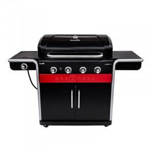 Barbecue gaz et charbon Char-Broil Gas2coal 440 Noir 4 brûleurs + 1 latéral