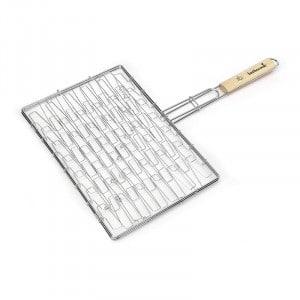 Grille chromée élastique Barbecook 40x28