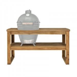 Table acacia pour Big Green Egg L