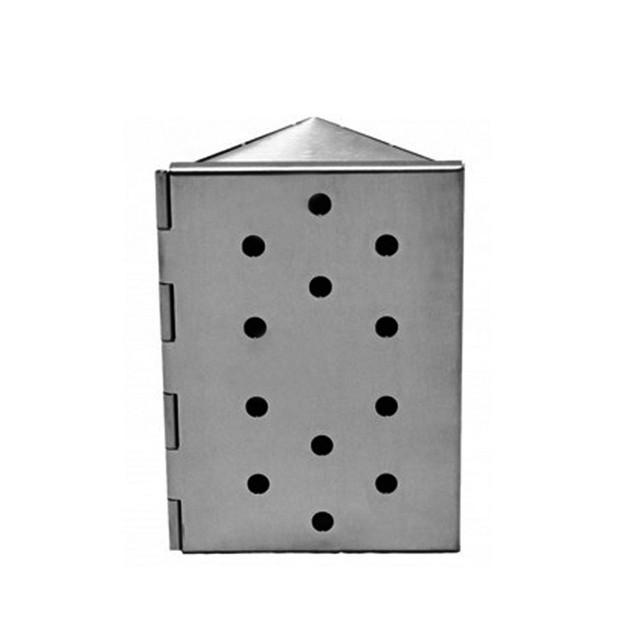 Boîtier de fumage triangle INOX Barbecue Republic