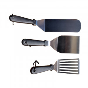 Set de 3 spatules Barbecue Republic pour plancha