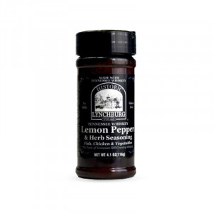 Epices bbq lynchburg lemon pepper au whiskey jack daniel's 116g