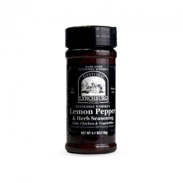 epices bbq lynchburg lemon pepper au whiskey jack daniel's 116g