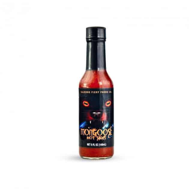 Sauce piquante Cajohn's mongoose hot sauce