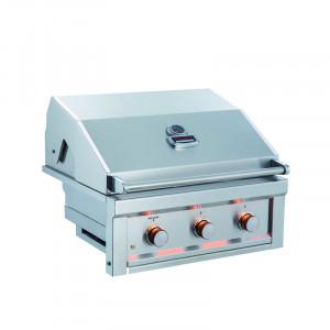 Barbecue gaz encastrable Sunstone Ruby Inox 3 brûleurs