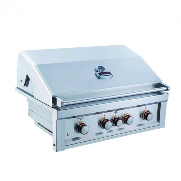 Barbecue gaz encastrable 4 feux SUNSTONE RUBY4B-IR-LP