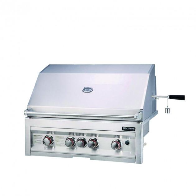 Barbecue gaz encastrable 4 feux SUNSTONE SUN4B-IR-LP