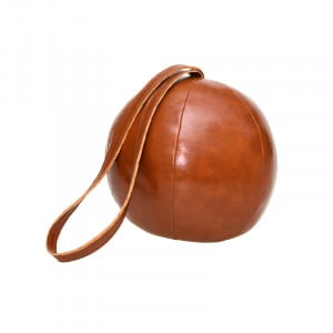 Cale porte boule Esschert en cuir