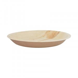 Assiettes jetables en bois de palmier Esschert Taille S x8