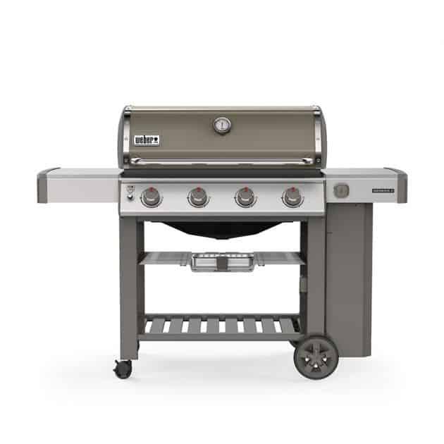 Barbecue gaz Weber Genesis 2 E-410 GBS Gris 4 brûleurs