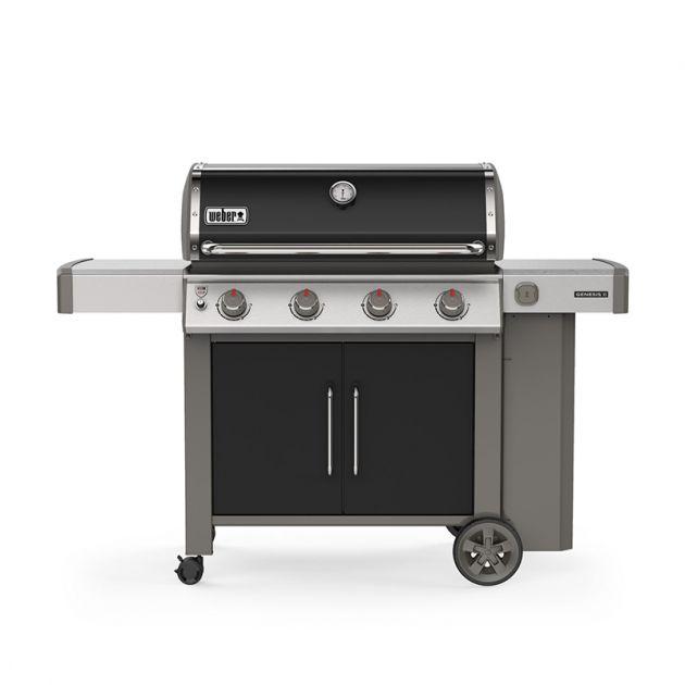 Barbecue gaz Weber Genesis 2 E-415 GBS Noir 4 brûleurs