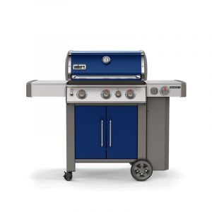 Barbecue gaz Weber Genesis 2 EP-335 GBS Bleu 3 brûleurs + 1 latéral