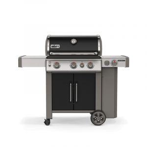Barbecue gaz Weber Genesis 2 EP-335 GBS Noir 3 brûleurs + 1 latéral