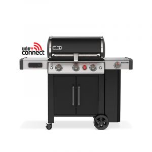 Barbecue gaz Weber Genesis 2 EX-335 GBS Noir 3 brûleurs + 1 latéral