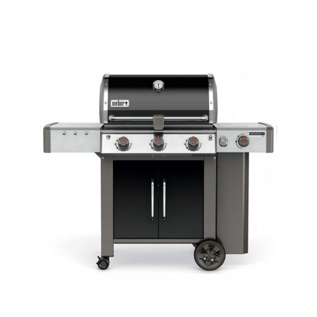 Barbecue gaz Weber Genesis 2 LX E-340 GBS Noir 3 brûleurs + 1 latéral