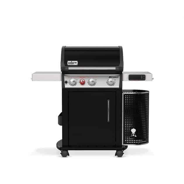 Barbecue gaz Weber Spirit EPX-325S Noir 3 brûleurs + 1 brûleur saisie