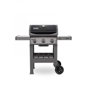 Barbecue gaz Weber Spirit II E-310 GBS Noir 3 brûleurs grille + plancha