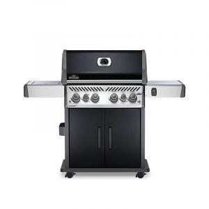 Barbecue gaz Napoléon Rogue SE525 Noir 4 brûleurs + 1 latéral + 1 arrière