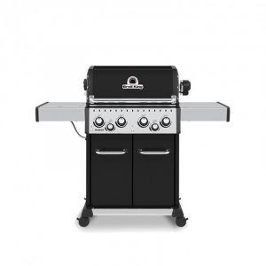 Barbecue gaz Broil King Baron 490 Noir 4 brûleurs + 1 latéral + 1 arrière