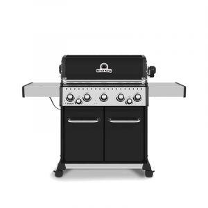 Barbecue gaz Broil King Baron 590 Noir 5 brûleurs + 1 latéral + 1 rôtissoire