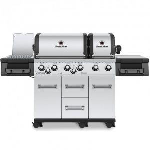 Barbecue gaz Broil King Imperial S690IR Inox 6 brûleurs + 1 latéral + 1 arrière