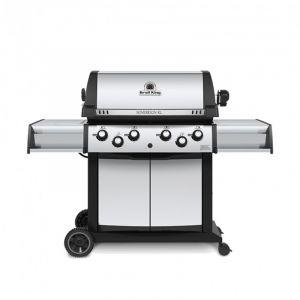 Barbecue gaz Broil King Sovereign 490 Inox 4 brûleurs + 1 latéral + 1 arrière